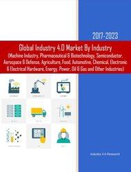 Industry 4.0 by Industry 2017-2023