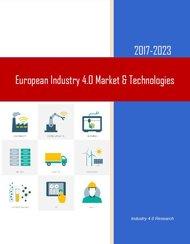 Europe Industry 4.0 Market 2017-2023