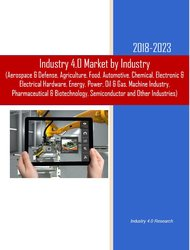 Industry 4.0 Market by Industry 2018-2023 Cover