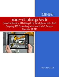 Industry 4.0 Technology Markets 2018-2023 Cover