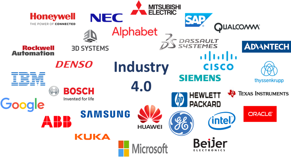 Tech Giants Participating in the Industry 4.0 Market & Technologies Race